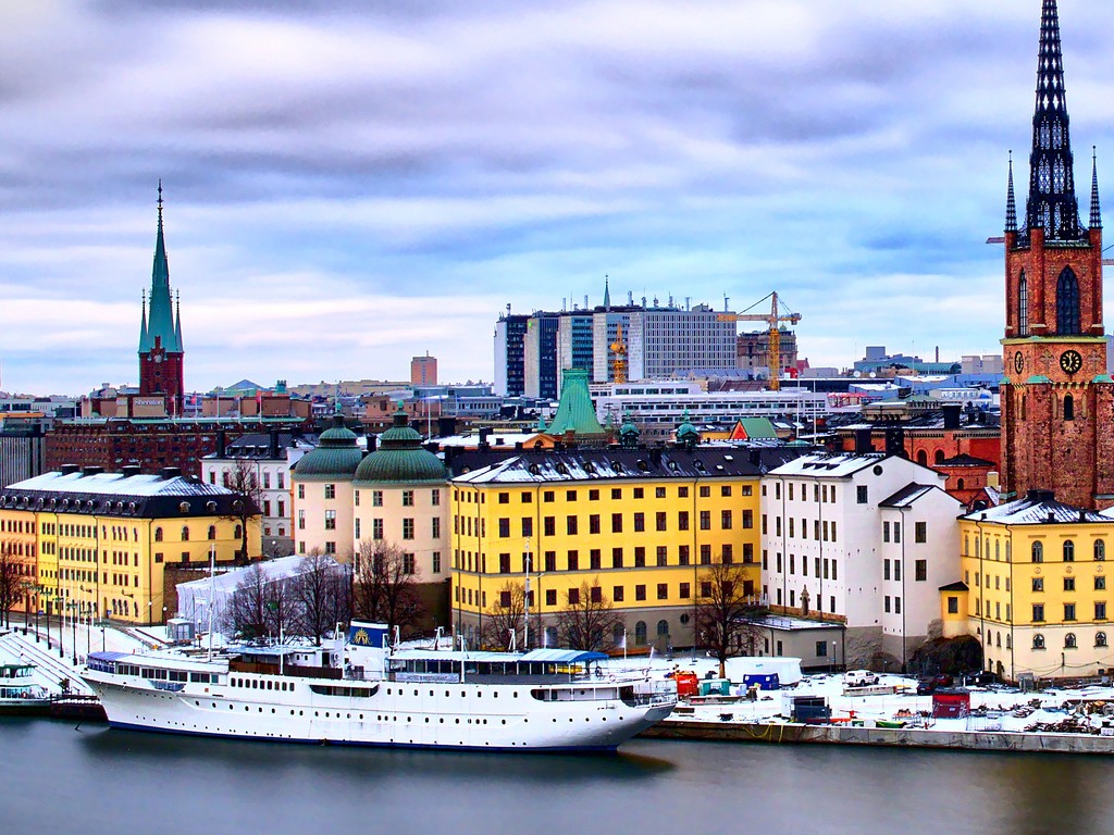 Picture of Stockholm marina